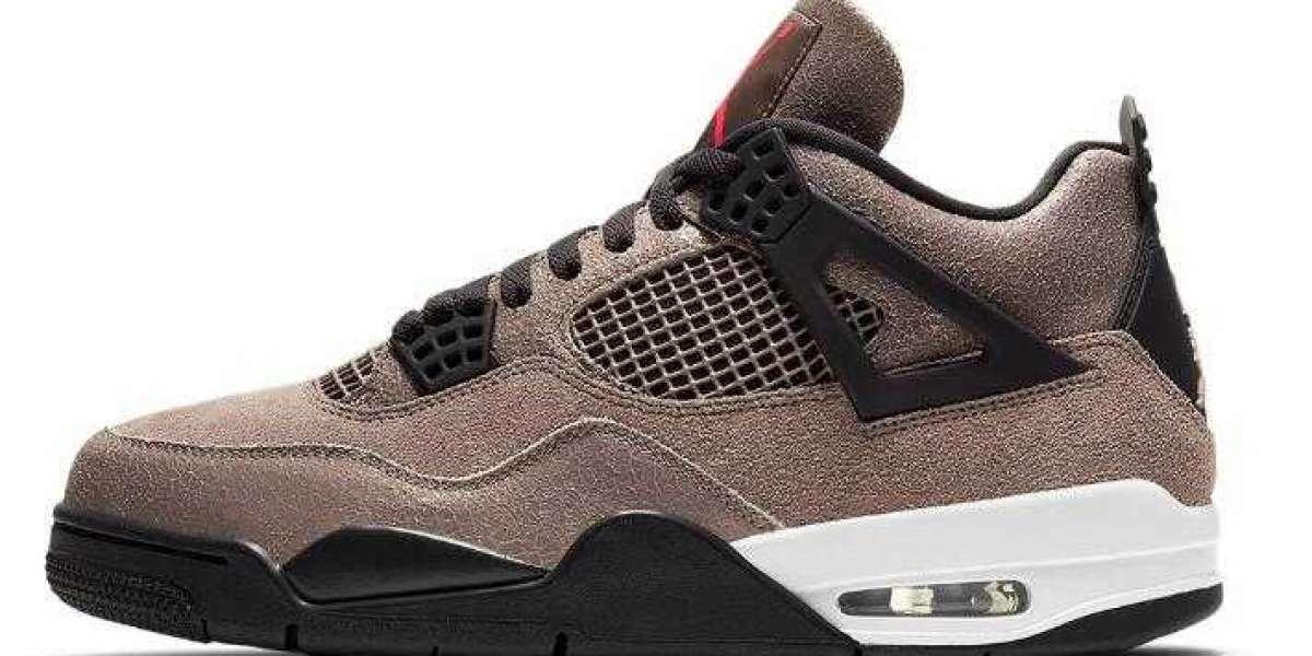 Where to Buy New Sale Air Jordan 4 Taupe Haze Sneakers ?