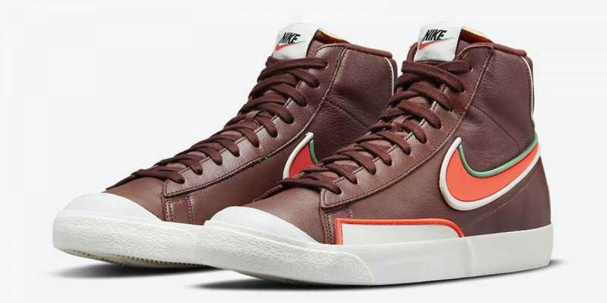 "Nike Blazer Mid '77 Infinite ""Dark Team Red"" DA7233-200 2021 New Released"